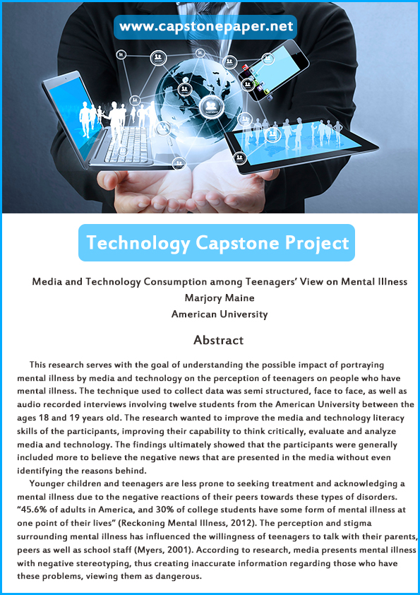 capstone technology paper sample