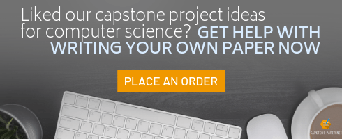 best capstone project ideas for computer science