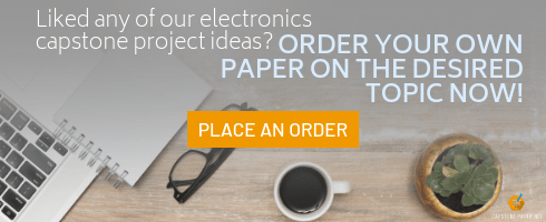 best capstone project ideas for electronics