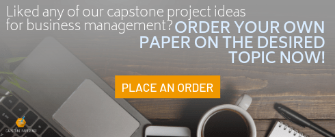 capstone project ideas for business management