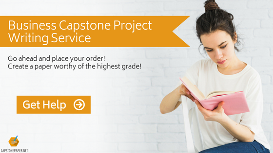the best business capstone project writing service