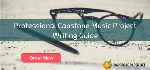 professional capstone music project writing guide