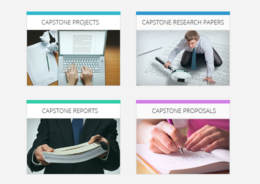 Capstone paper writing service