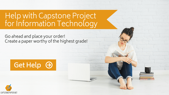 capstone project for information technology help