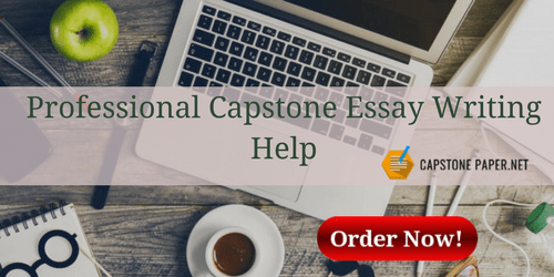 professional capstone essay writing help