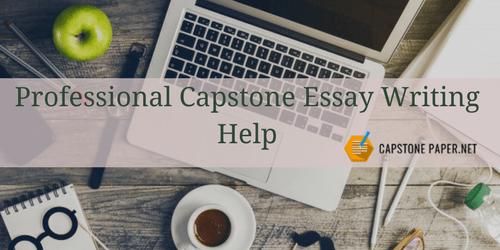 professional capstone essay writing help