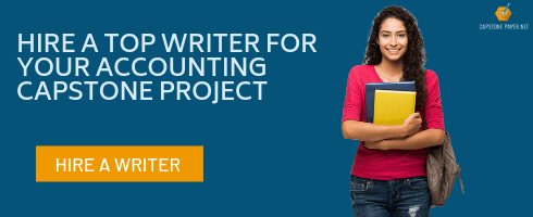 accounting capstone project writer
