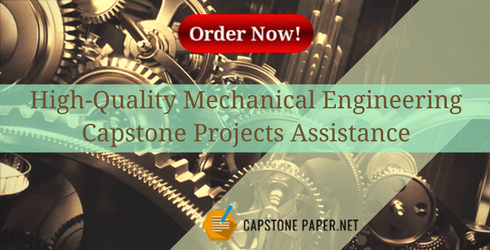 mechanical engineering capstone projects assistance