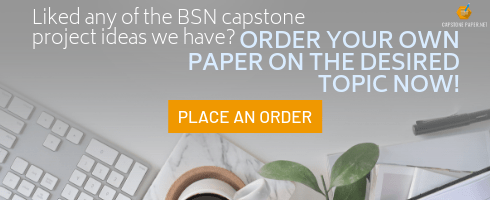 capstone project ideas for bsn program