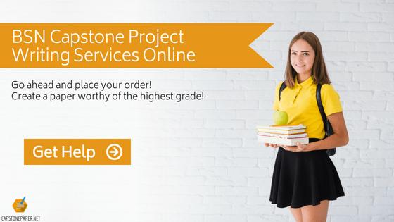 capstone project for bsn program help