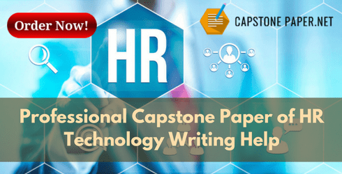 capstone paper of HR technology writing help