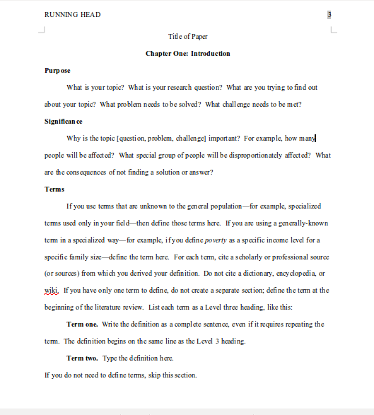 mla outline format for a research paper