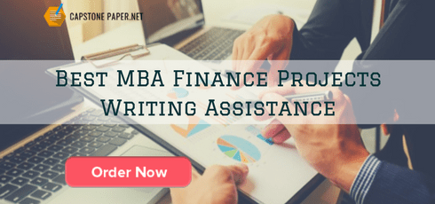 best MBA finance projects writing assistance