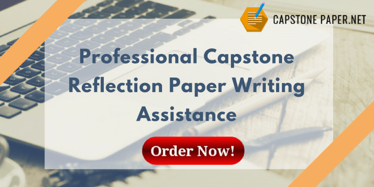 capstone reflection paper assistance