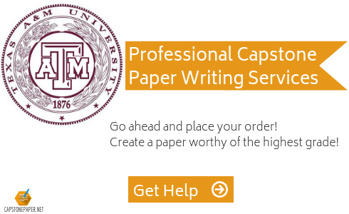 capstone paper format tamu