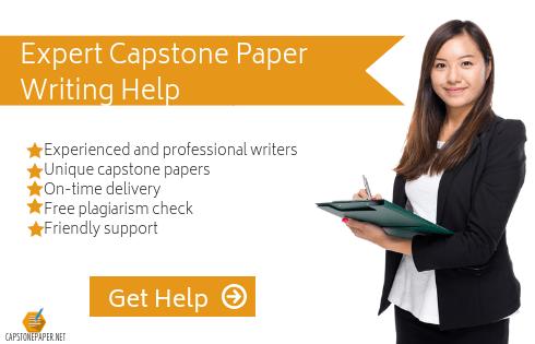 capstone report format help