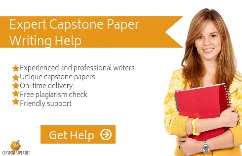 capstone project format assistance
