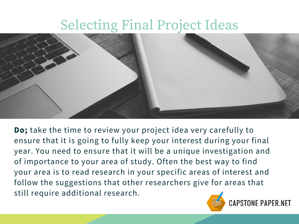 do do writing a final year project