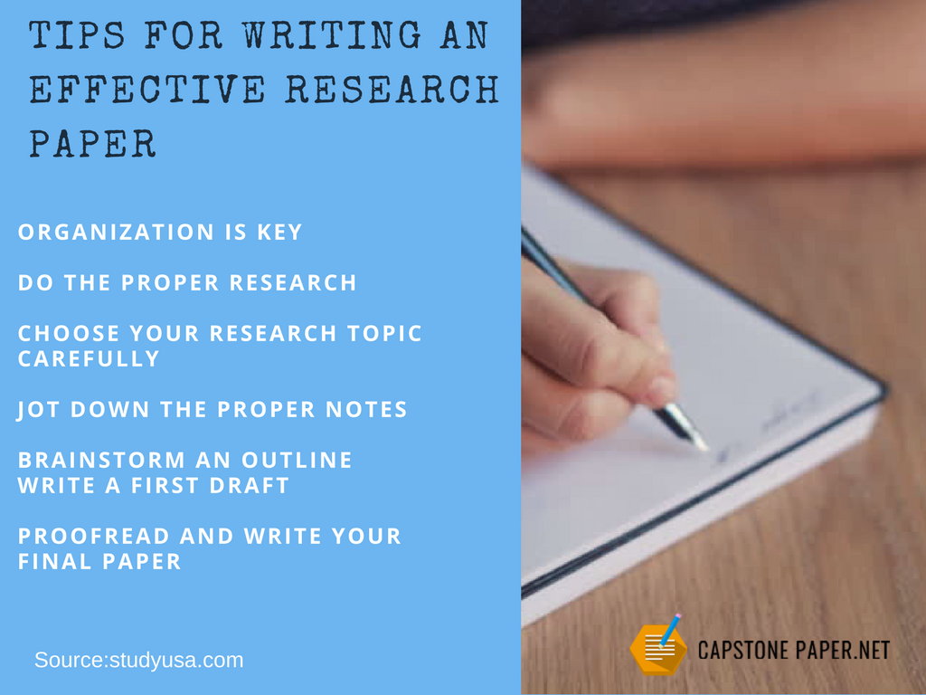 tips for graduate capstone project