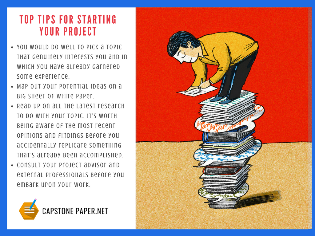 english capstone paper tips