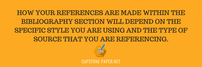 set citing references in a paper