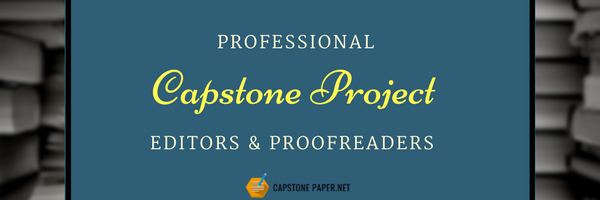 capstone paper edting services