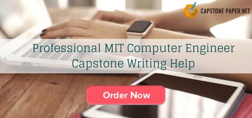 professional MIT computer engineer capstone writing help