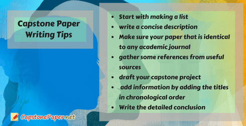 capstone paper writing tips