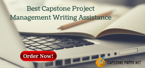 best capstone project management writing assistance
