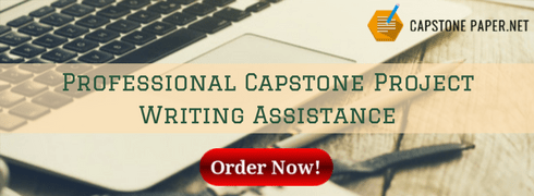 professional cpstone project writing assistance