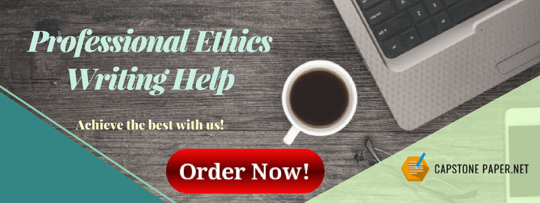 professional ethics writing help