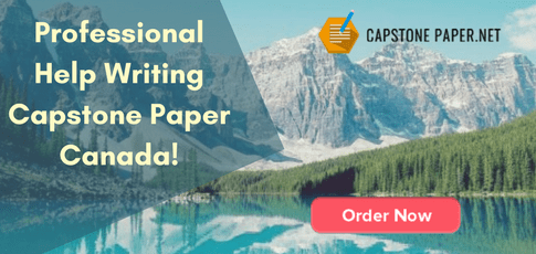 professional help writing capstone paper Canada