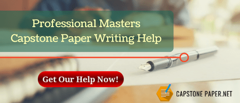 professional masters capstone paper writing help