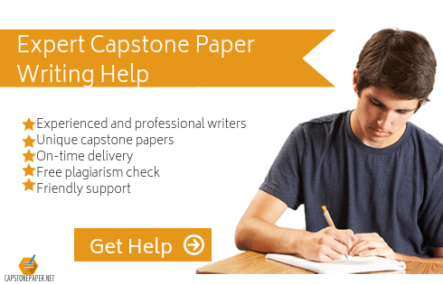 capstone presentation outline help