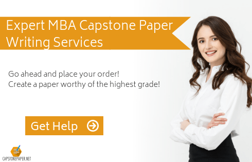 mba capstone assistance