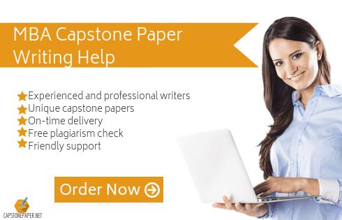 mba capstone project help