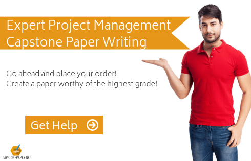 project management capstone help