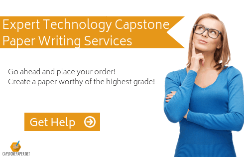 technology capstone projects assistance