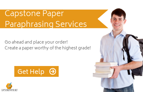 capstone paper paraphrasing help