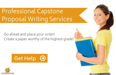 capstone proposal assistance