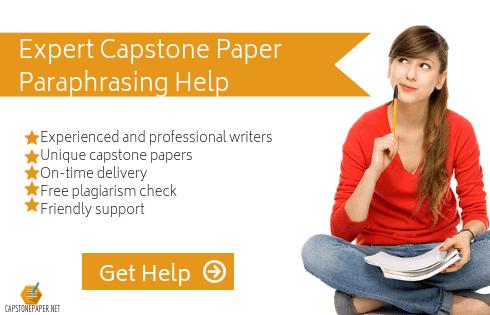 rewoding capstone help
