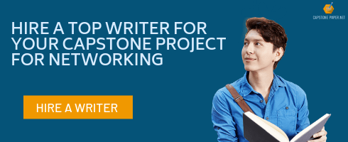 capstone project for networking writer