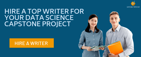 data science capstone project writer
