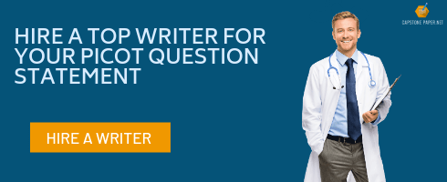 nursing PICOT questions writer